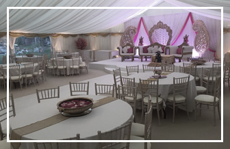 Marquee Decorations for Weddings